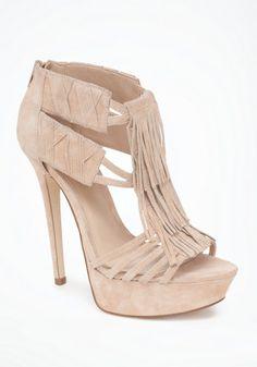 Annie Fringe Suede Sandals