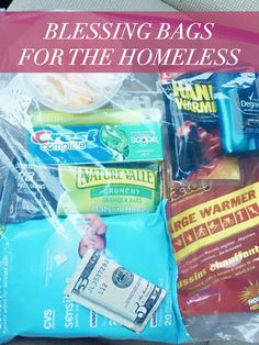 Blessing Bags For Those In Need