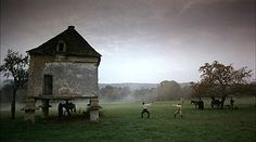 The Duellists, Ridley Scott. Beautifully shot Napoleonic tradgedy.