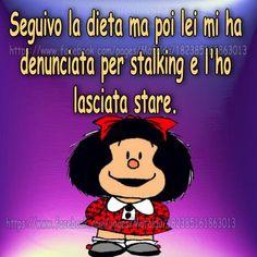 Mafalda and more… Diet Humor, Food Humor, Funny Memes, Hilarious, Snoopy, Vignettes, Comedy, Peanuts, Woodstock