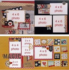 ALTERNATE 13 LAYOUT CLUB KIT  featuring Say Cheese by Simple Stories