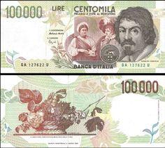 100000 Lír Taliansko 1994, Pick 117