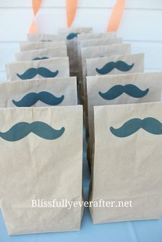 Little Man Mustache Bash {1st Birthday Party} - Blissfully Ever After