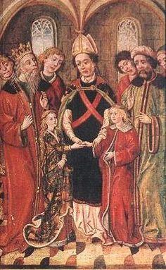 Köntös (Szent Erzsébet-oltár, Bártfa) - Hagyomány és múltidéző