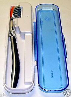 portaspazzolino porta spazzolino da viaggio con sterilizzatore della testina