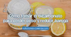 Te enseñamos cómo tomar bicarbonato para adelgazar. ¡Todo en este post!