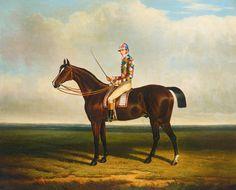 Blacklock with Jockey Up by John Frederick Herring | Art Posters
