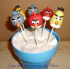 Las dulces recetas de Mari: CAKE POPS