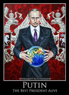 The Best President Vladimir Putin