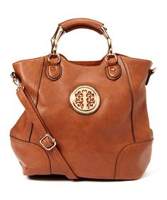 Another great find on #zulily! Brown Carnia Tote by MKF Collection #zulilyfinds