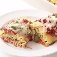 Ricotta-stuffed lasagna rolls are yummier when paired with herby marinara made from scratch.