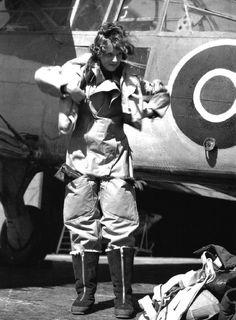 Although women did not fly in direct combat, 166 served in the Air Transport Auxiliary which ferried aircraft from factories to their bases, and servicewomen like this Wren (from WRNS, Women's Royal Naval Service) radio mechanic flew to test radios.