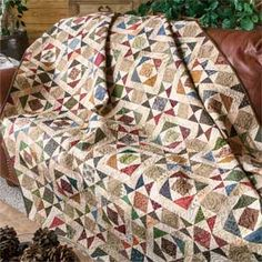 Splendor in the Scraps: Traditional Full Size Quilt Pattern