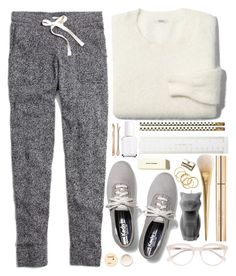 """#683 Tamy"" by blueberrylexie ❤ liked on Polyvore featuring Korres, Keds, Madewell, Essie, Kate Spade, Dolce&Gabbana, Derek Lam and PyroPet"