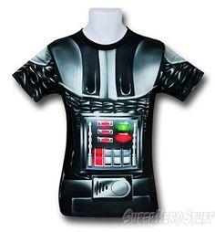 Darth Vader Fitness T-Shirt -  Sublimated Costume