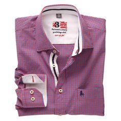 TITAN Checks | Single Cuff | Cut away Collar | Red from Zodiac Casual Shirts For Men, Men Casual, Mens Designer Shirts, Buy Shirts, Men Shirt, Silk Ties, Dress Shirt, Krishna, Shirt Style