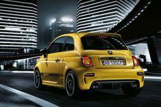 Fiat 500 Abarth 595 voorzien van facelift, uiteraard met meer vermogen