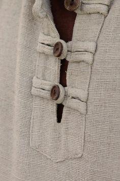 Shirt with Hoodi ~ Raw silk~ Kurti Neck Designs, Blouse Designs, Clothing Patterns, Dress Patterns, Kurta Pajama Men, Boys Kurta Design, Banded Collar Shirts, Mens Designer Shirts, Half Sleeve Shirts