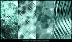 Icy and Watery Blue Textures by WebTreatsETC.deviantart.com on @deviantART