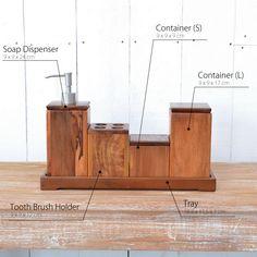 【楽天市場】セール!! チーク・バスルームアクセサリーセットTF(直輸入,北欧家具,木製家具, アジアン家具,雑貨):CORIGGE MARKET