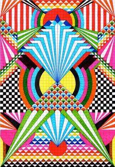Afbeeldingsresultaat voor graph paper art project for 12 year olds Graph Paper Drawings, Graph Paper Art, Pixel Art, Arte Elemental, Paper Art Projects, Math Art, Art Club, Geometric Art, Geometric Designs