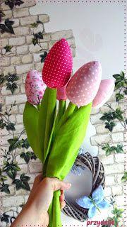PrzydaSie: Tulipany dla mojej mamy i instrukcja krok po kroku