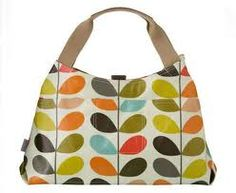 Orla Kiely For Apple Multi Stem Print Shoulder Bag 38