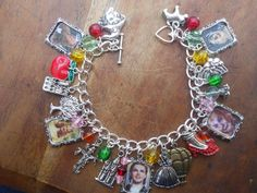 Wizard of Oz Picture Charms Bracelet by CreationsByDebs on Etsy, £12.00