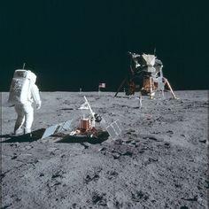 1407 foto inedite della missione Apollo 11 rilasciate dalla NASA dopo 40 anni