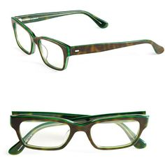 Corinne Mccormack Sydney 51mm Reading Glasses ($68) ❤ liked on Polyvore featuring accessories, eyewear, eyeglasses, green, green eyeglasses, plastic glasses, lens glasses, green glasses and reading glasses