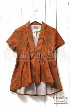 New Dress Indian Pattern 54 Ideas Model Dress Batik, Batik Dress, Kimono, Diy Fashion Tops, Trendy Fashion, Fashion Outfits, Diy Outfits, Blouse Batik Modern, Batik Solo