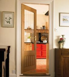 Dordogne Oak Glazed | Internal Hardwood Doors | Doors & Joinery | Howdens Joinery