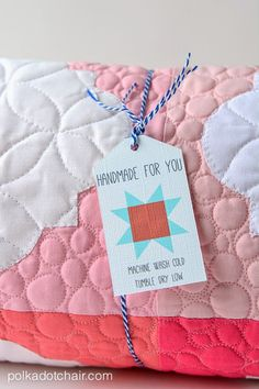Diary of a Quilter - a quilt blog: Project Teen + Free Quilt-tag Printable