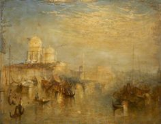 William Turner | Grand Canal, Venice | Oil on canvas | Plymouth City Museum and Art Gallery