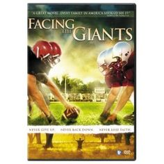 Facing the Giants - even if you don't like spots, you'll enjoy the tenacious nature of this movie...never give up!