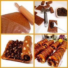 """""""Arkadaşlarımızdan bir çok kişi bu tarifte ruloyu nasıl yaptığımı merak etmişler. Benden paylaşmamı istediler. Bu fotoğrafla belki daha net anlaşılır.…"""" Cake Recipes, Dessert Recipes, Drink Recipes, Chocolate Biscuits, Vegetable Drinks, Arabic Food, Turkish Recipes, Almond Recipes, Chocolate Recipes"""