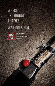 War Child: Machete (found on www.designidea.info pinned by www.BlickeDeeler.de)