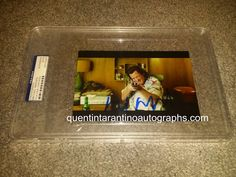 My Quentin Tarantino Autograph Collection: Michael Madsen of Kill Bill Vol. 1 and 2! Autograp...