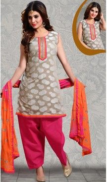 #Grey Color Straight Cut #Chanderi #Silk Punjabi Patiyala Readymade Dresses   FH500576582 #punjabi , #patiyala, shindhi, #suits, #narrow, #dresses, #salwar, #kameez, #straight, #long, #heenastyle, #indian, #online, #shopping, #clothing, #womens, #girls, #style, #mode, #henna, #hina, #mehendi, #dupatta, #chudidar, @heenastyle , #pakistani, #readymade