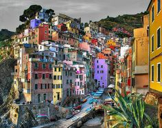 Riomaggiore, Italy    definitely one of the places I need to go back to in Italy.