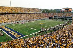 Saw Auburn play West Virginia at WV. (I have to say, their fans were the worst away fans I've ever experienced.)