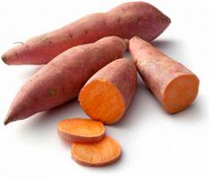 veel vezels in zoete aardappel die heel erg gezond zijn en meehelpen om een fit en slank lichaam te krijgen. Ook zitten er veel vitamines in met hoge concentraties beta-caroteen (de bouwstof voor vitamine A), vitamine C en vitamine B6.  http://www.eetgoedvoeljegoed.com/2011/02/amandelmeel-10-voordelen-op-een-rij.html