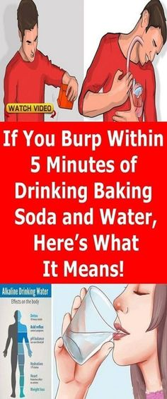 If You Burp Within 5 Minutes Of Drinking Baking Soda & Water, Here's What It Means - Health Care & Fitness Tips Drinking Baking Soda, Baking Soda Water, Baking Soda Shampoo, Baking Soda Detox Drink, What Is Baking Soda, Paula Deen, Healthy Drinks, Healthy Tips, Healthy Style