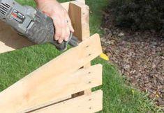 Comment démonter les côtés de la palette en bois