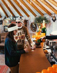 Veuve Clicquot Ski Yurt, Deer Valley