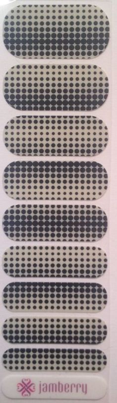 Jamberry Nail Wraps - Progression -Half Sheet- Retired Extremely Rare #Jamberry