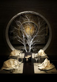 Decoration item with specially designed lighting effect