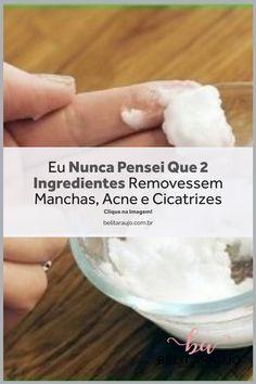 Manchas na pele e rosto melasma Remover Manchas, Food, Homemade Recipe, Recipes, 2 Ingredients, Essen, Meals, Yemek, Eten