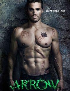 Arrow - hooray for shirtless super heroes :)