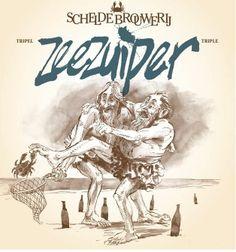 Zeezuiper - Scheldebrouwerij, Meer, België. Beoordeling GGOB: 5,8 www.ggob.nl